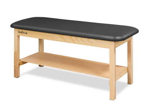 """CanDo¨ Treatment Table w/Flat Top and Shelf, 400 LB Capacity, 72""""L x 27""""W x 31""""H"""