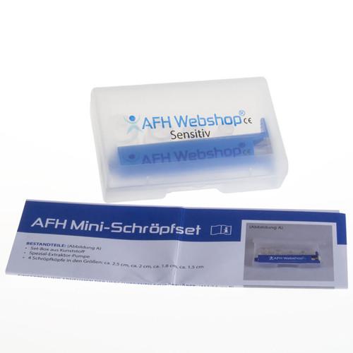 AFH mini cupping kit, sensitive