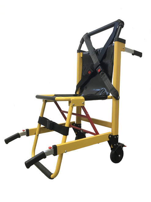 Deluxe Heavy Duty Stair Chair-2Wheel-Yellow