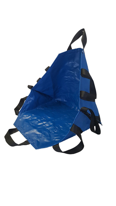 Portable Transport Seat/Chair, All Impervious w/8 Handles, Royal Blue