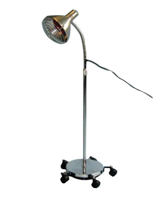 Standard infra-red ceramic 250 watt lamp, mobile base