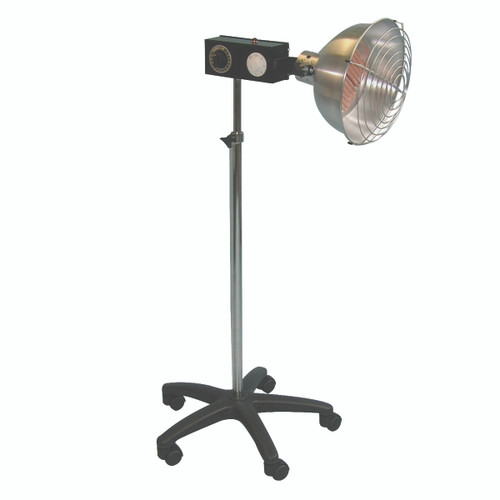 Professional infra-red ceramic 750 watt lamp, intensity control