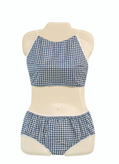 Dipsters¨ patient wear, women's Bibb-top bikini, medium - dozen