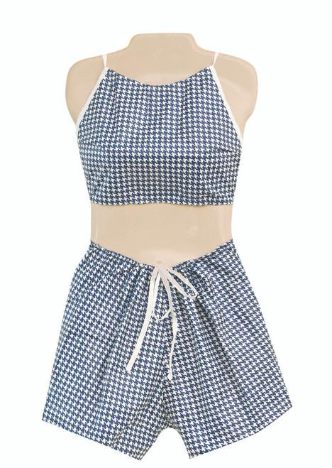Dipsters¨ patient wear, women's Bibb-top w/shorts, small - dozen