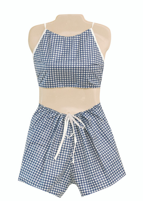 Dipsters¨ patient wear, women's Bibb-top w/shorts, x-large - dozen