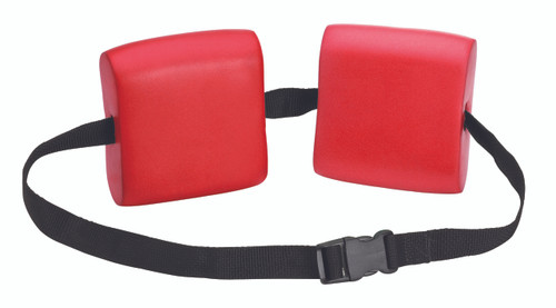 CanDo¨ swim belt with two oval floats, red