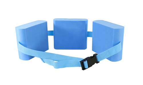 CanDo¨ swim belt with three oval floats, blue