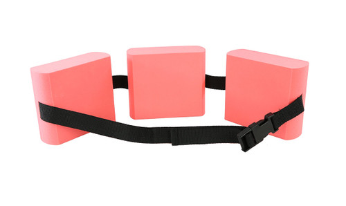CanDo¨ swim belt with three oval floats, red