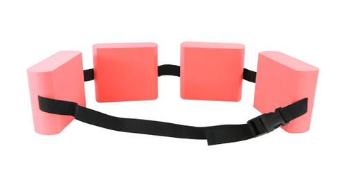 CanDo¨ swim belt with four oval floats, red