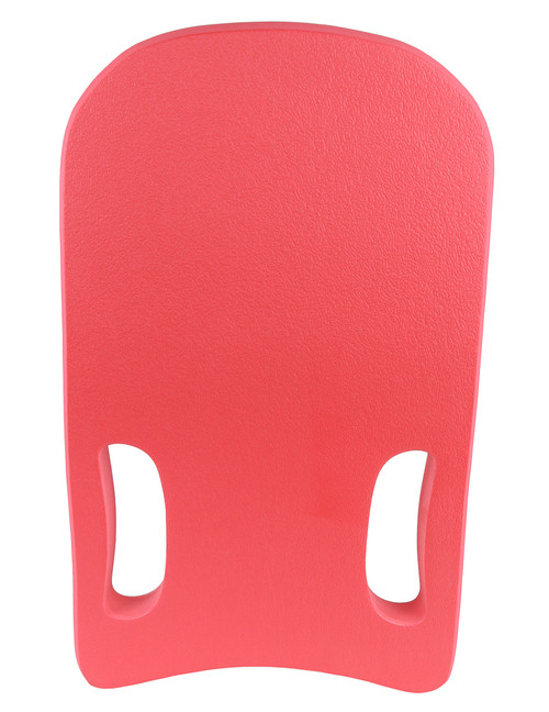 Deluxe Kickboard with 2 Hand cut-outs - Red