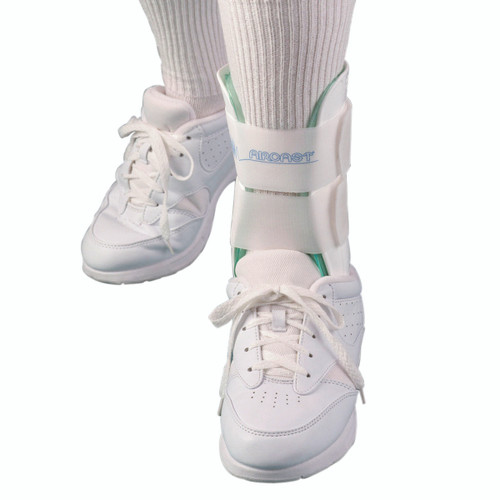 Air Stirrup¨ Ankle Brace 02J Pediatric Ankle Brace, left