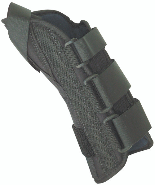 """8"""" soft wrist splint right, large 7-9"""" with abducted thumb"""