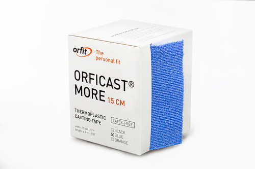 """Orficastª More Thermoplastic Tape, 6"""" x 9' (BLUE)"""