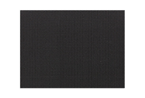 "Orfilight¨ Black NS, 18"" x 24"" x 3/32"", micro perforated 13%, case of 4"