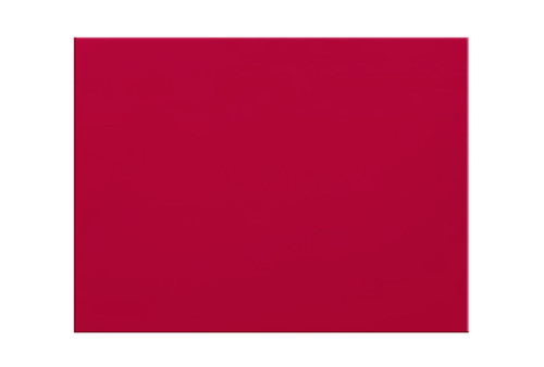 """Orfit¨ Colors NS, 18"""" x 24"""" x 1/12"""", non perforated, dynamic red, case of 4"""