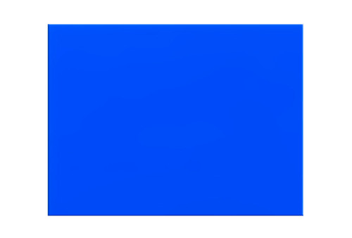 """Orfit¨ Colors NS, 18"""" x 24"""" x 1/12"""", non perforated, ocean blue, case of 4"""