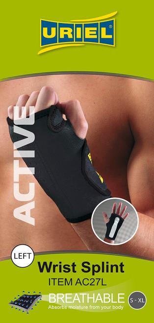 Uriel Neoprene Maximum Wrist Support, Universal Size, Left