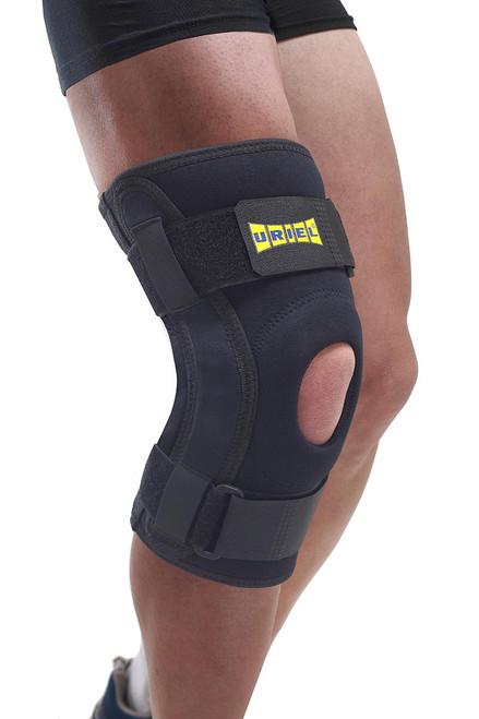 Uriel Hinged Knee Brace, Max Comfort, Large