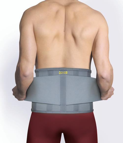 Uriel Lumbar Belt, Gray, XX-Large