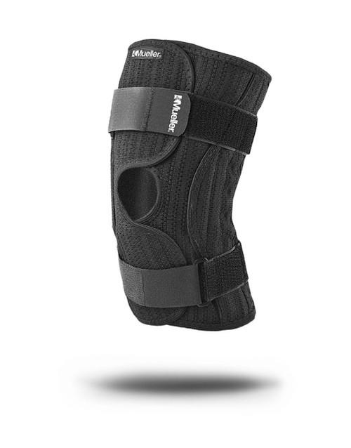 Mueller Elastic Knee Brace, Black, Large/X-Large