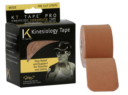 """KT¨ tape pro, 2""""x20' beige pre-cut"""