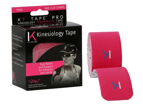 """KT¨ tape pro, 2""""x20' pink pre-cut"""