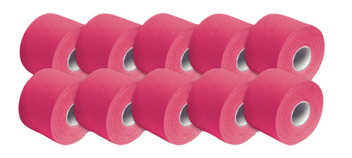 "3B Tape, 2"" x 16.5 ft, pink, latex-free, case of 10"