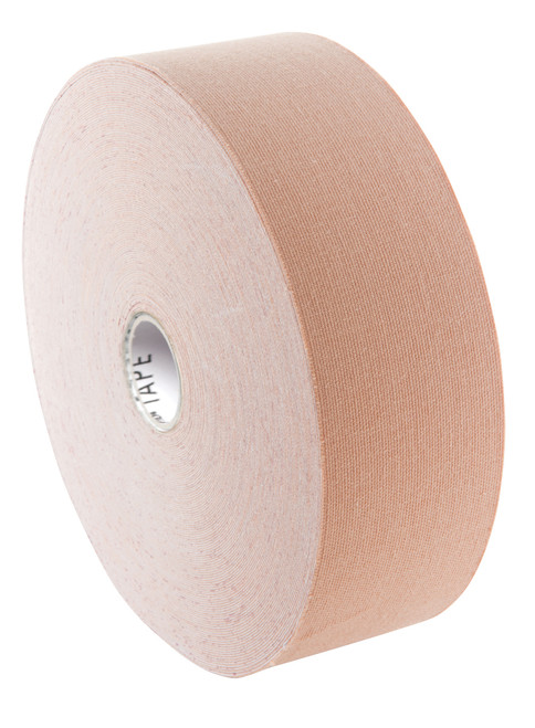 "3B Tape bulk roll, 2"" x 103 ft, beige, latex-free"