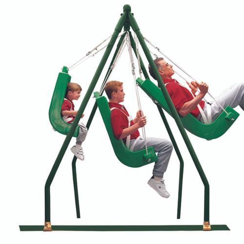 Swing seat frame, indoor or outdoor