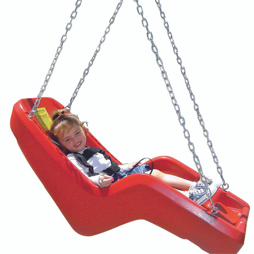 JennSwing with 6 ft Chain - Red