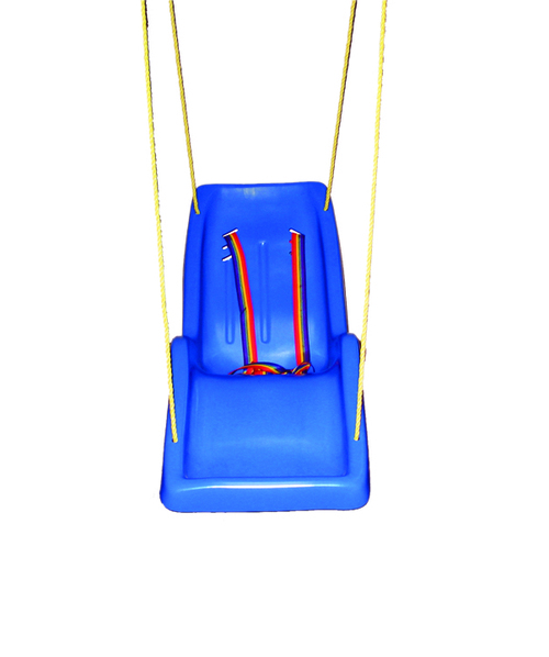 Skillbuilders full-body reclining swing, universal, with rope