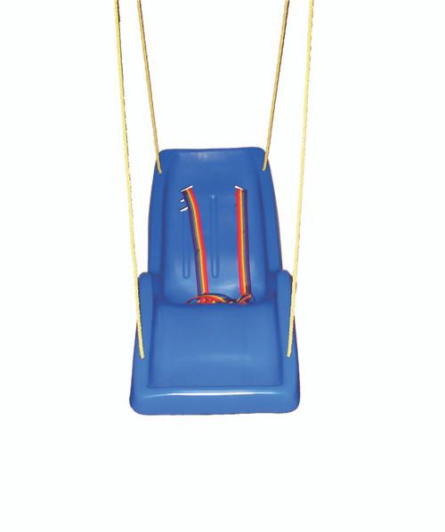 Skillbuilders full-body reclining swing, universal, with 10 foot chain