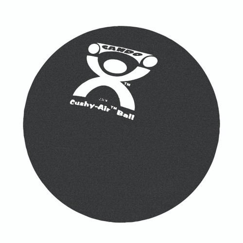 "CanDo¨ Cushy-Air¨ Hand Ball - Black - 10"" (25 cm)"