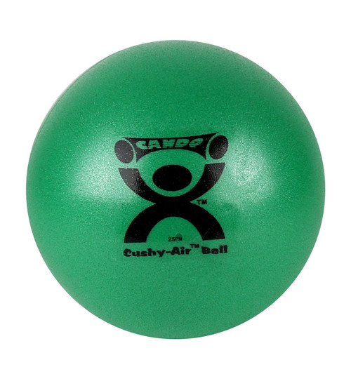 "CanDo¨ Cushy-Air¨ Hand Ball - Green - 10"" (25 cm)"