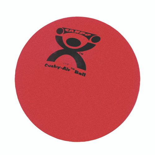 "CanDo¨ Cushy-Air¨ Hand Ball - Red - 10"" (25 cm)"