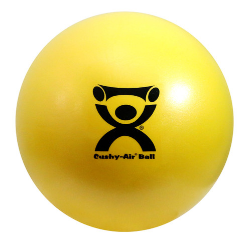 "CanDo¨ Cushy-Air¨ Hand Ball - Yellow - 10"" (25 cm)"