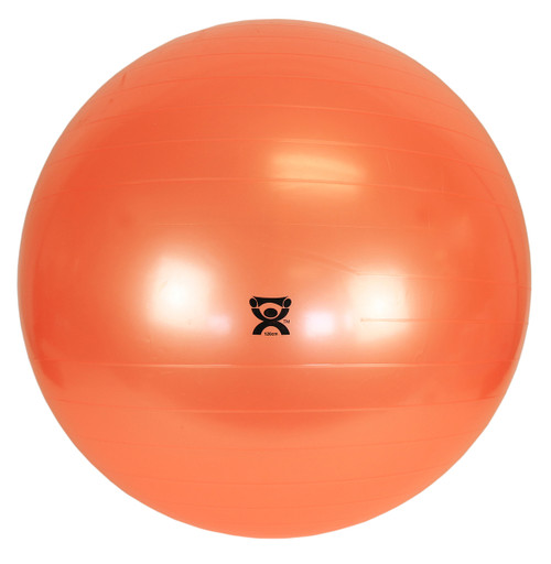 "CanDo¨ Inflatable Exercise Ball - Orange - 48"" (120 cm)"