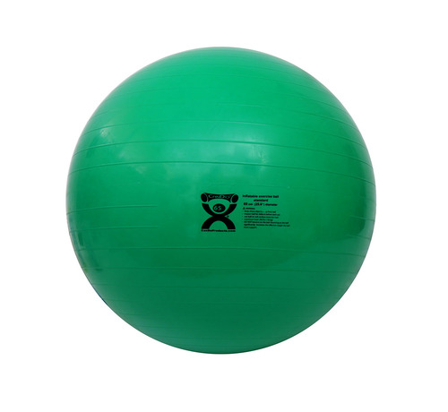 CanDo¨ Inflatable Ball, Green, 65cm (25.6in)