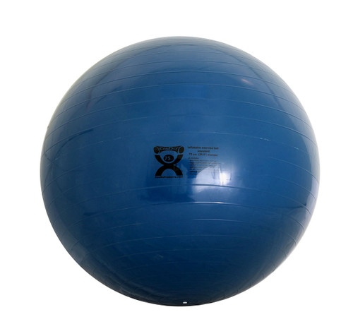 CanDo¨ Inflatable Ball, Blue,  75cm (29.5in)