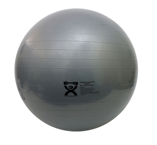 CanDo¨ Inflatable Ball, Silver, 85cm (33.5in)