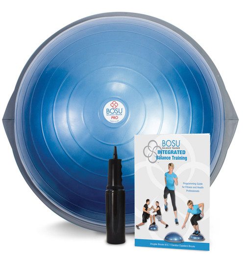 BOSU¨ PRO Balance Trainer with training manual and instructional video