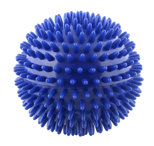 Massage ball, 10 cm (4.0 inches), Blue
