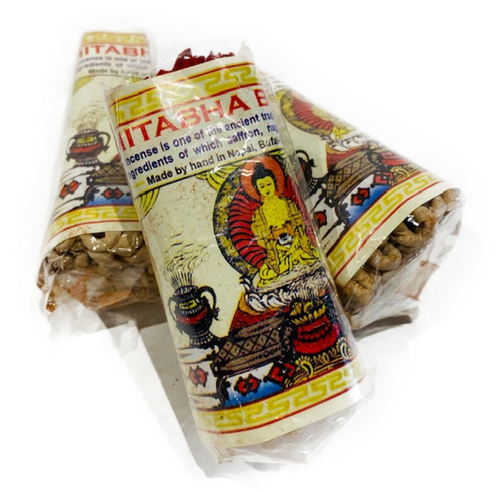 Traditional rope incense. Handmade in Nepal. 45 strings