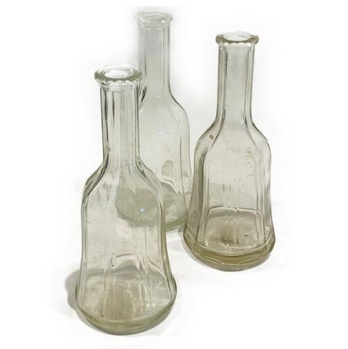 Vintage glass Mc K.C.Co Barber Shop Bottle. c.1951.