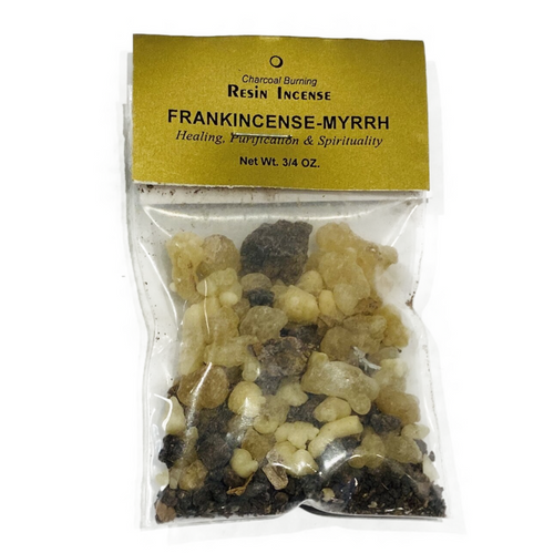 Frankincense-Myrrh Resin/.75oz