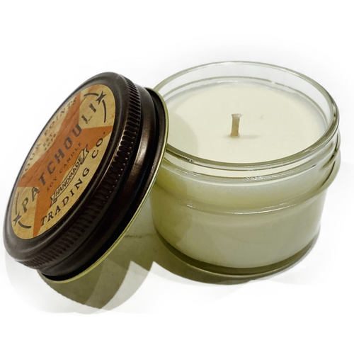 Hand poured, fragrance, 4ox soy wax candle. Cotton wick.