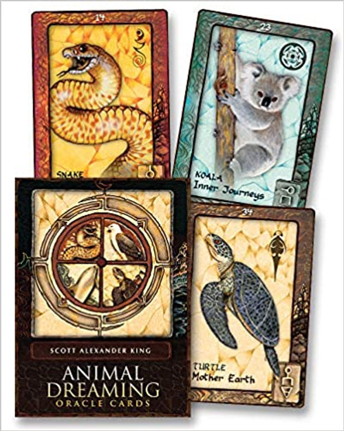 Oracle deck. 45-cards and 132-page guidebook included.