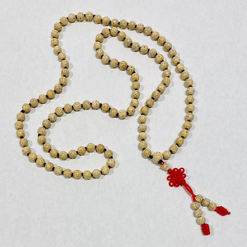 Hand knotted 108 Sead Mala Necklace.