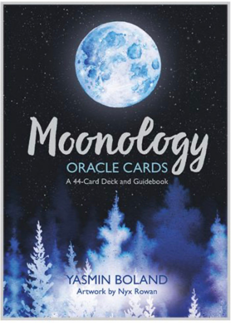 The energy of the Moon has a formidable effect on our everyday life. 44-card deck. Includes guide book.