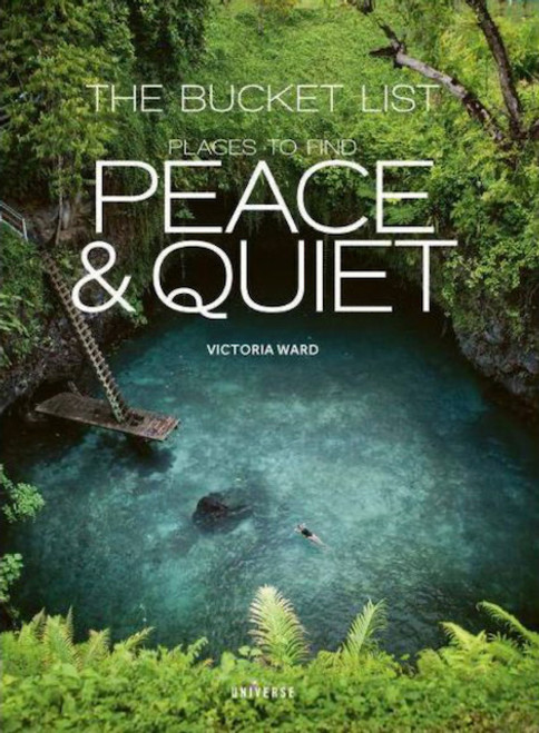 Excellent gift! Place to find peace & quiet. 416-pages. Hardcover.